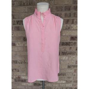 J crew ruffle blouse